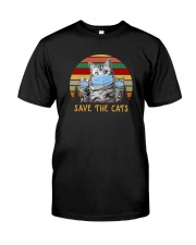 SAVE THE CATS Classic T-Shirt front