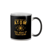 NEVER TRUST AN ATOM Color Changing Mug thumbnail