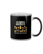 CELEBRATE DIVERSITY Color Changing Mug thumbnail