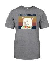 OK BOOMER CAT MEME Classic T-Shirt front