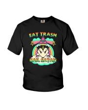 EAT TRASH HAIL SATAN Youth T-Shirt thumbnail