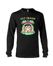 EAT TRASH HAIL SATAN Long Sleeve Tee thumbnail