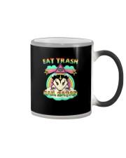 EAT TRASH HAIL SATAN Color Changing Mug thumbnail
