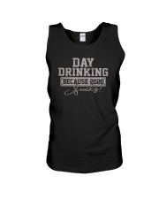 DAY DRINKING 2020 SUCKS Unisex Tank thumbnail