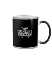 DAY DRINKING 2020 SUCKS Color Changing Mug thumbnail