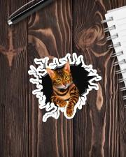 BENGAL CAT STICKER Sticker - Single (Vertical) aos-sticker-single-vertical-lifestyle-front-05
