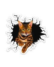 BENGAL CAT STICKER Sticker - Single (Vertical) front