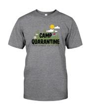 CAMP QUARANTINE SOCIAL DISTANCING CLUB SINCE 2020 Classic T-Shirt front