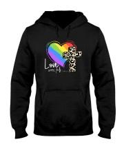 LOVE NEVER FAILS Hooded Sweatshirt thumbnail