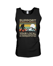 SUPPORT YOUR LOCAL SASQUATCH Unisex Tank tile
