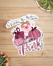 PIG  PINK Sticker - 4 pack (Vertical) aos-sticker-4-pack-vertical-lifestyle-front-07