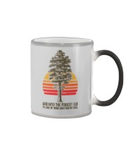 AND INTO THE FOREST I GO Color Changing Mug thumbnail