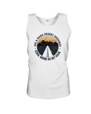 ON A DARK DESERT HIGHWAY COOL WIND IN MY HAIR Unisex Tank thumbnail