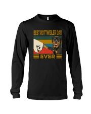 BEST Rottweiler DAD EVER Long Sleeve Tee thumbnail