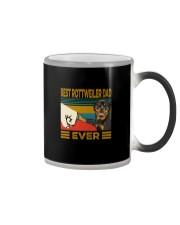 BEST Rottweiler DAD EVER Color Changing Mug thumbnail