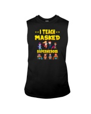I TRAIN MASKED SUPERHEROES Sleeveless Tee thumbnail