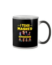 I TRAIN MASKED SUPERHEROES Color Changing Mug thumbnail