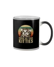 SHOW ME YOUR KITTIES Color Changing Mug thumbnail