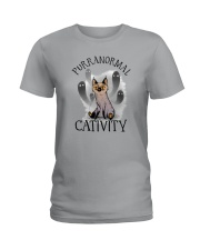 PURRANORMAL CATIVITY Ladies T-Shirt thumbnail