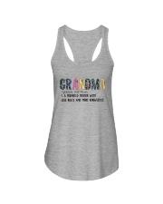GRANDMA NOUN Ladies Flowy Tank thumbnail