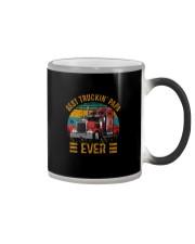 BEST TRUCKIN' PAPA EVER VINTAGE Color Changing Mug thumbnail