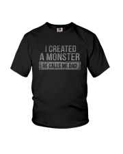 I CREATED A MONSTER Youth T-Shirt thumbnail