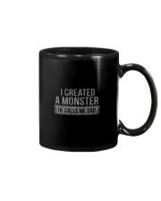 I CREATED A MONSTER Mug thumbnail