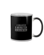 I CREATED A MONSTER Color Changing Mug thumbnail