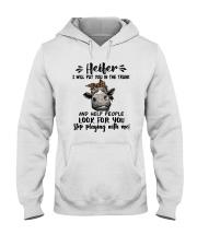 HEIFER LOOK FOR YOU Hooded Sweatshirt thumbnail