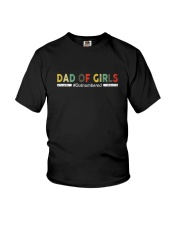 DAD OF GIRLS VINTAGE Youth T-Shirt thumbnail
