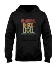 BEARDED INKED DAD Hooded Sweatshirt thumbnail