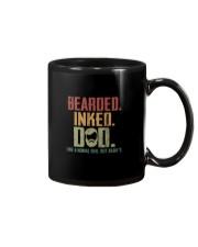 BEARDED INKED DAD Mug thumbnail