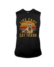 LIVE FAST EAT TRASH Sleeveless Tee thumbnail