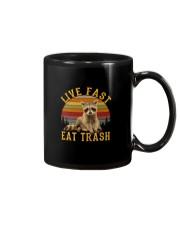 LIVE FAST EAT TRASH Mug thumbnail