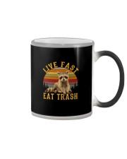 LIVE FAST EAT TRASH Color Changing Mug thumbnail