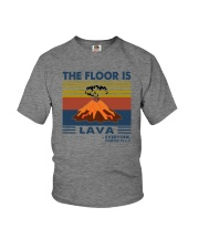 THE FLOOR IS LAVA EVERYONE POMPEII Youth T-Shirt thumbnail
