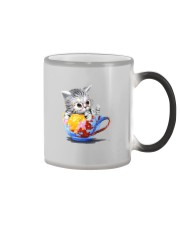KITTY ON CUP HAND Color Changing Mug thumbnail