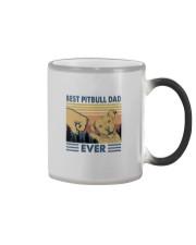 BEST PITBULL DAD EVER Color Changing Mug thumbnail