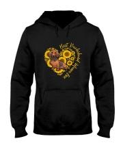 BEST DACHSHUND MAMA EVER Hooded Sweatshirt thumbnail