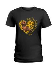 BEST DACHSHUND MAMA EVER Ladies T-Shirt thumbnail
