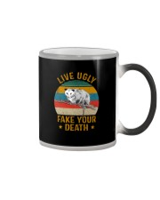 LIVE UGLY FAKE YOUR DEATH OPOSSUM Color Changing Mug thumbnail