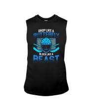 DROP LIKE A BUTTERFLY BLOCK LIKE A BEAST Sleeveless Tee thumbnail