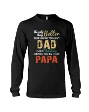 MY CHILDREN HAVE PAPA  Long Sleeve Tee thumbnail