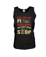 I'M IRRATIONAL AND I DON'T KNOW WHEN TO STOP Unisex Tank thumbnail