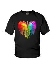 LOVE IS LOVE DRAGON PRIDE Youth T-Shirt thumbnail