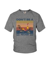 DON'T BE A PECKER Youth T-Shirt thumbnail