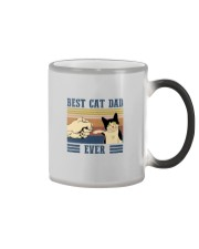 BEST CAT DAD EVER Color Changing Mug thumbnail