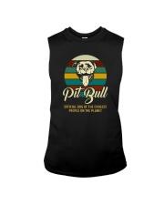 official dog pitbull Sleeveless Tee thumbnail
