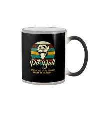 official dog pitbull Color Changing Mug thumbnail