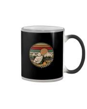 QUARANTINE FUNNY CAMPING Color Changing Mug thumbnail